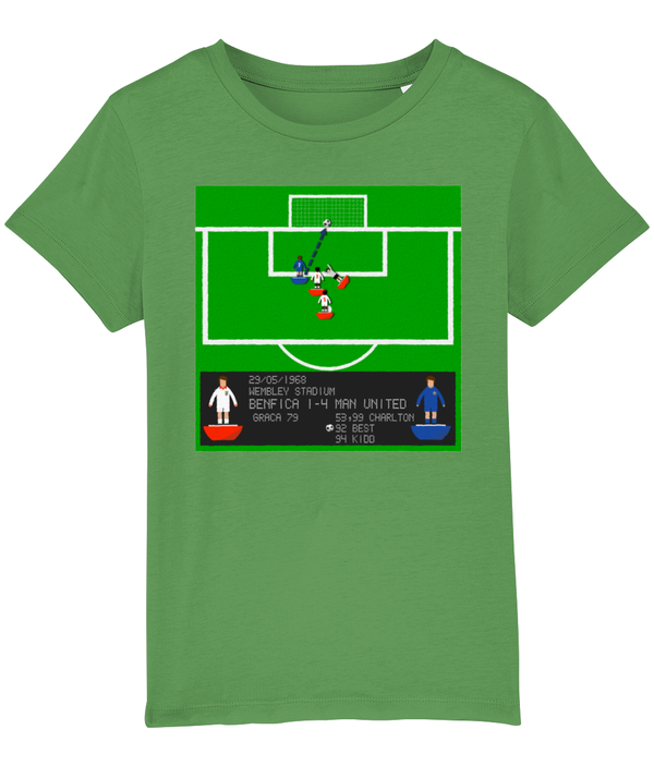 Football Iconic Moment 'George Best Benfica v MANCHESTER U 1968' Children's T-Shirt