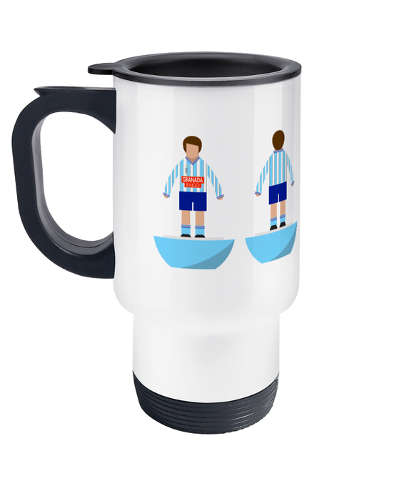 Football Player 'Coventry 1987' Travel Mug