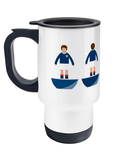 Football Player 'Scotland 1967' Travel Mug