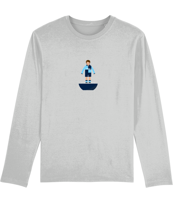 Football Player 'Wycombe 1990 Mini Print' Men's Long Sleeve