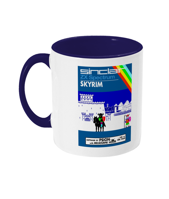 Gaming Sinclair Modern 'PSION Skyrim' Mug