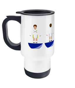 Football Player 'Leeds 2000' Travel Mug