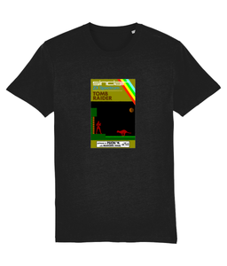 Gaming Sinclair Modern 'PSION Tomb Raider' Unisex T-Shirt