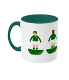 Rugby Union Player 'South Africa' Traditional Mug