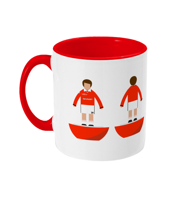Football Player 'Manchester U 1999 Champions League' Mug