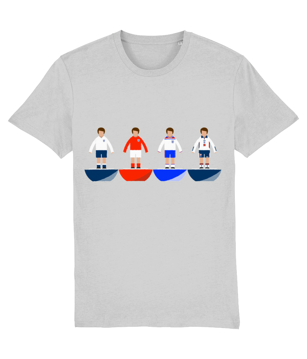 Football Player 'England combined' Unisex T-Shirt
