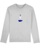 Football Player 'Preston 1980 Mini Print' Men's Long Sleeve