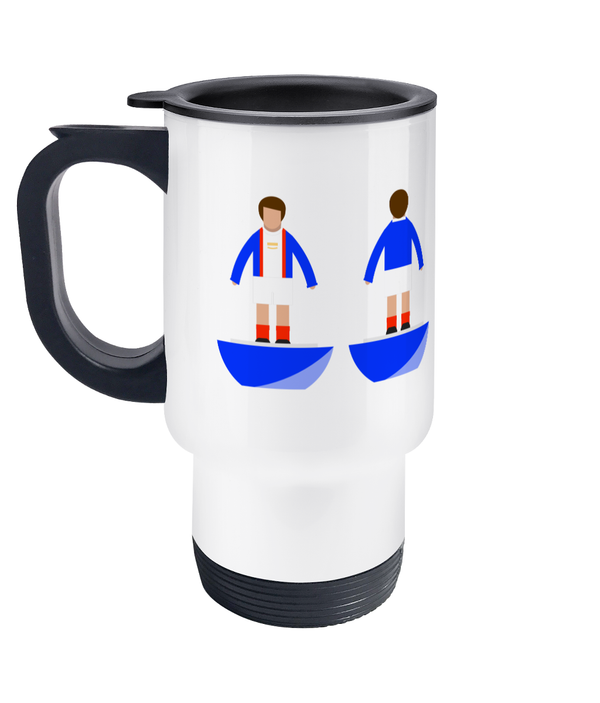 Football Player 'Carlisle 1973' Travel Mug