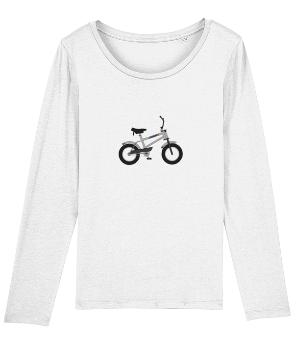 Toys Bikes 'Strika Silver' Ladies Long Sleeve