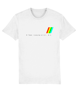 Gaming Sinclair Iconic 'ZX Spectrum 'Tape Loading Error' Unisex T-Shirt