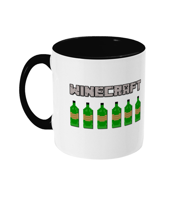 Gaming Gamer Dad/Mum 'Winecraft' Mug