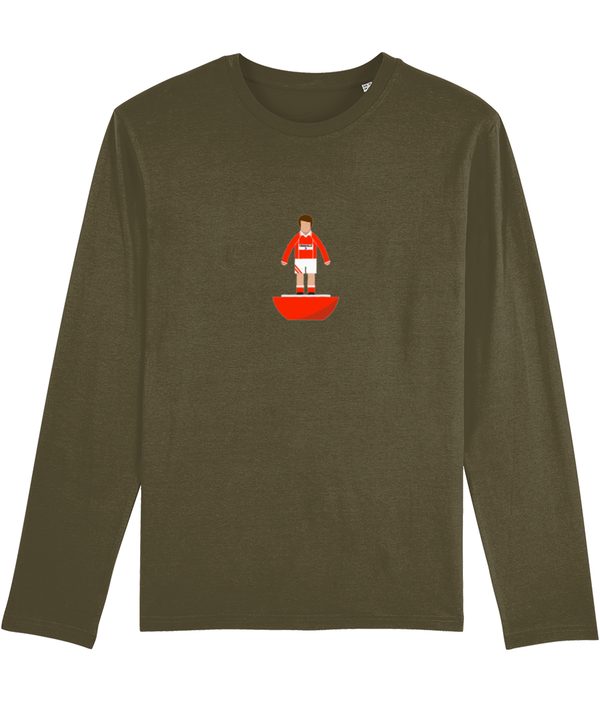 Football Player 'Wrexham 1984 Mini Print' Men's Long Sleeve