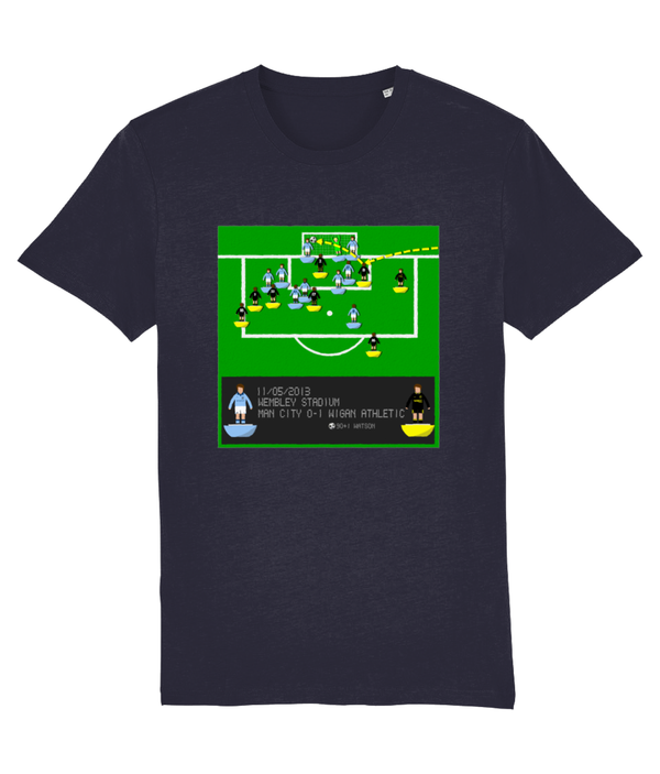 Football Iconic Moment 'Ben Watson Manchester C v WIGAN 2013' Unisex T-Shirt