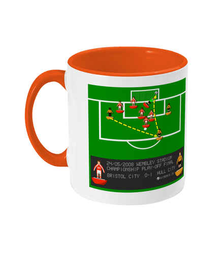 Football Iconic Moment 'Dean Windass Bristol C v HULL C 2008' Mug