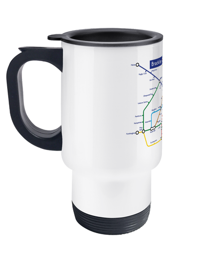 Maps and Signs Tube Map 'Brackley' Travel Mug