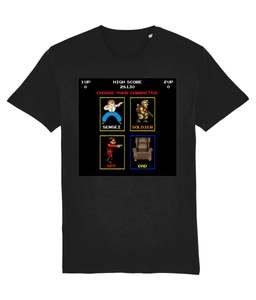 Gaming Parent 'Choose your character' Unisex T-Shirt
