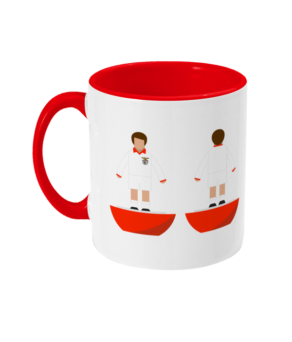 Football Player 'Benfica 1968' Mug