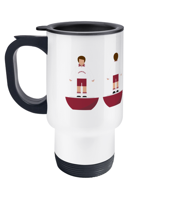 Football Player 'Hearts 1998 Cup Final' Travel Mug