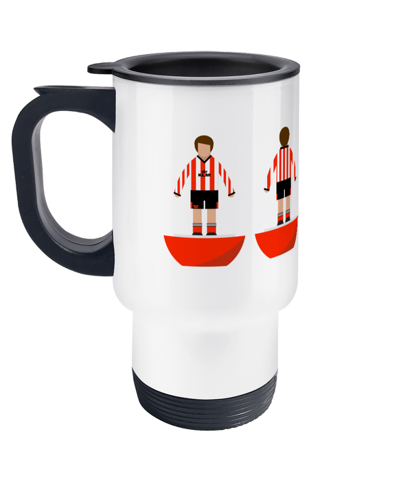 Football Player 'Brentford 1992' Travel Mug