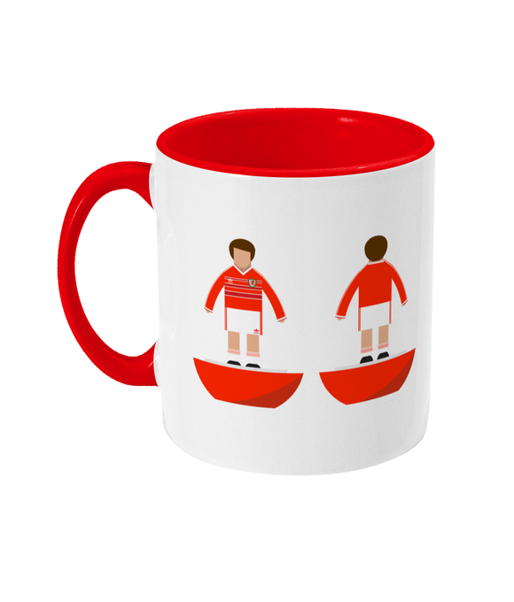 Football Player 'Wales 1984' Mug
