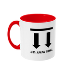 Slogans 'This Way Up' Mug