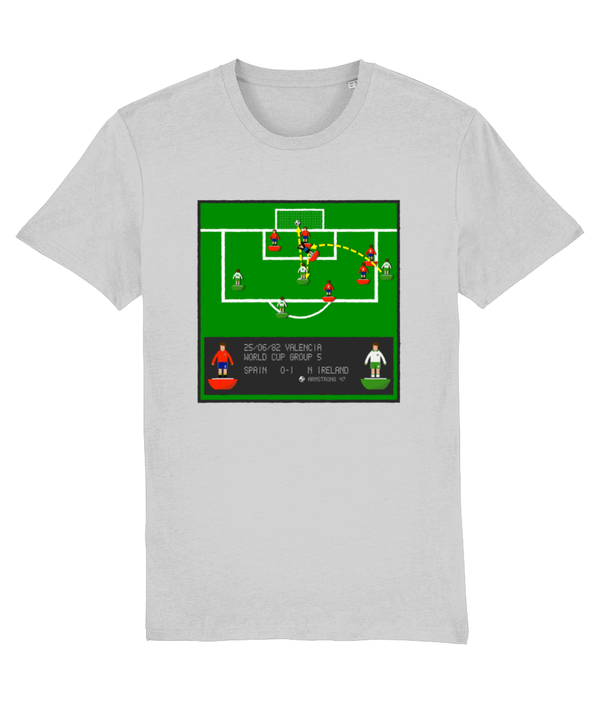 Football Iconic Moment 'Gerry Armstrong Spain v N IRELAND 1982' Unisex T-Shirt