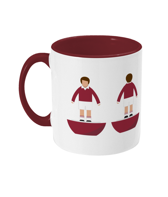 Football Player 'Hearts 1960' Mug