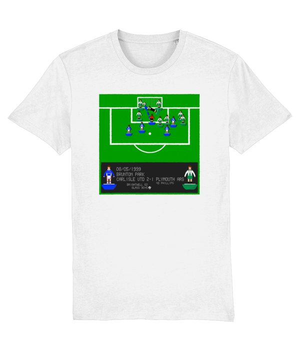 Football Iconic Moment 'Jimmy Glass CARLISLE v Plymouth Argyle 1999' Unisex T-Shirt