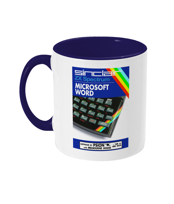 Gaming Sinclair Modern 'PSION Word' Mug