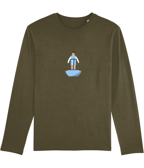 Football Player 'Coventry 1981 Mini Print' Men's Long Sleeve