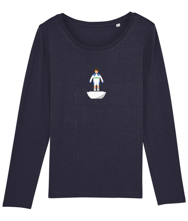 Football Player 'Tranmere 1993 Mini Print' Ladies Long Sleeve