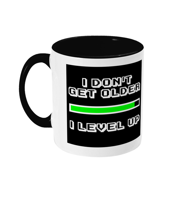 Gaming Gamer Dad/Mum 'I don't get older' Mug