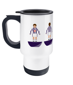 Football Player 'West Bromwich 1984' Travel Mug