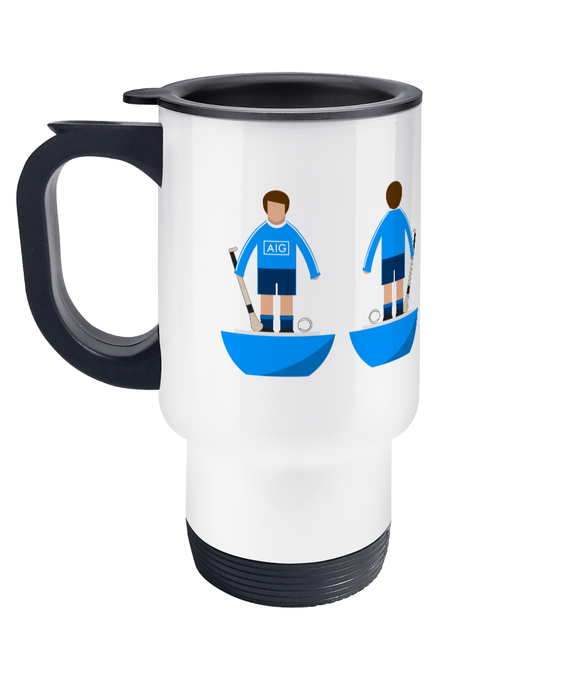 Hurling Player 'Dublin' Travel Mug