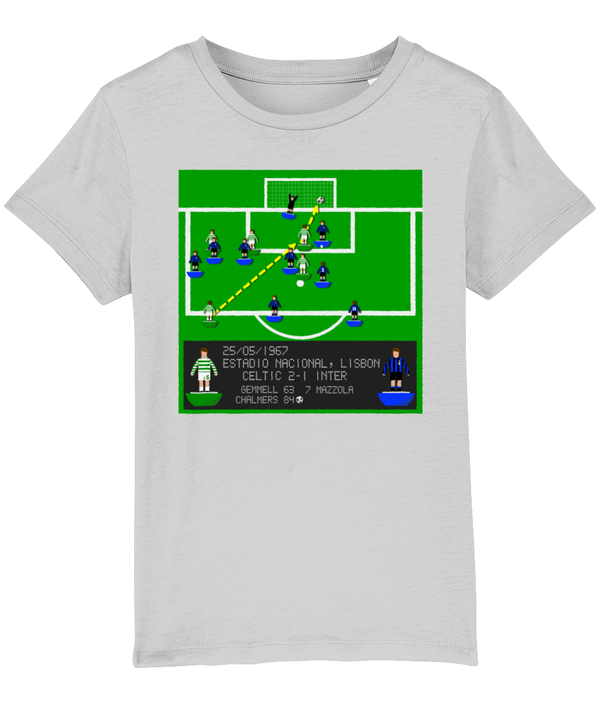 Football Iconic Moment 'Stevie Chalmers GLASGOW CELTIC v Inter Milan 1967' Children's T-Shirt