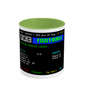 Football Teletext 'GLASGOW CELTIC v Rangers 2000' Mug