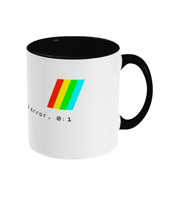 Gaming Sinclair Iconic 'ZX Spectrum 'Tape Loading Error' Mug