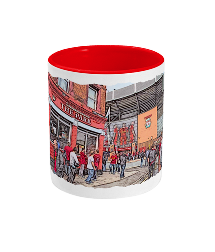 Football Grounds 'Liverpool Anfield 1' Mug