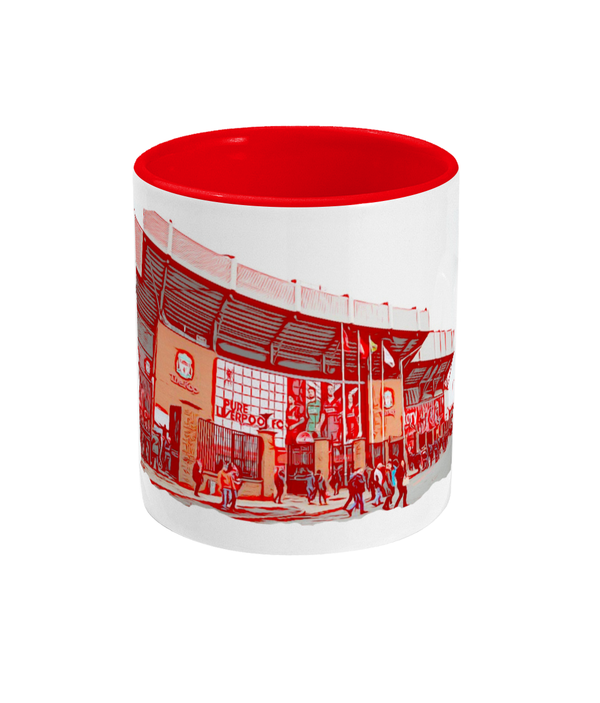 Football Grounds 'Liverpool Anfield 2' Mug