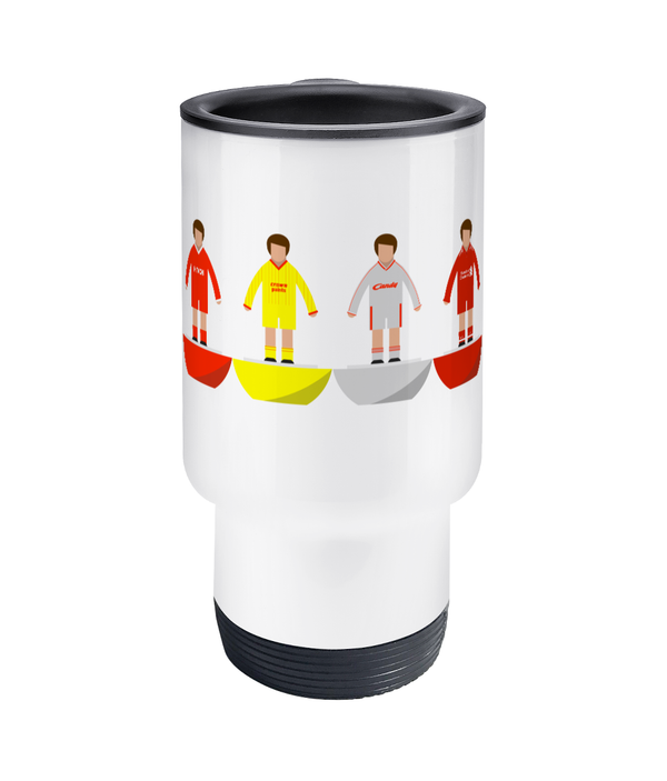 Football Player 'Liverpool combined' Travel Mug