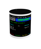 Football Teletext 'Newcastle v Brighton 1984' Mug