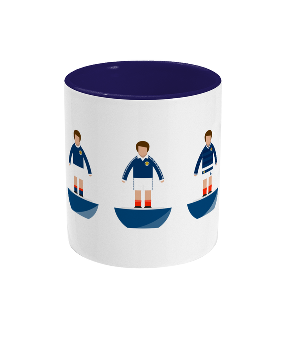 Football Player 'Scotland combined' Mug