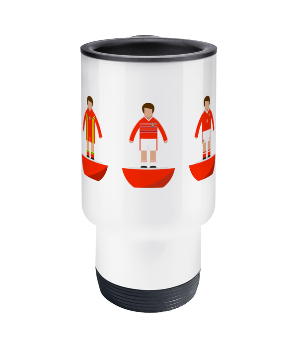 Football Player 'Wales combined' Travel Mug