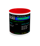 Football Teletext 'Wrexham v Crystal P 1977' Mug