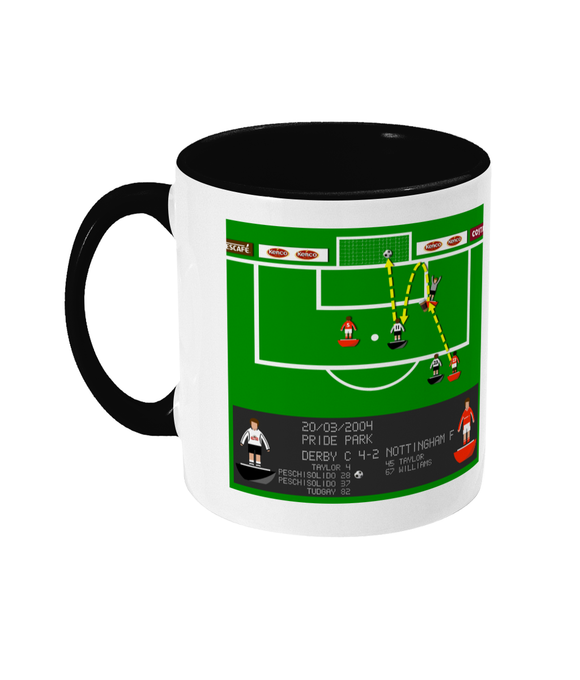 Football Iconic Moment 'Derby C v Nottingham F 2004' Mug