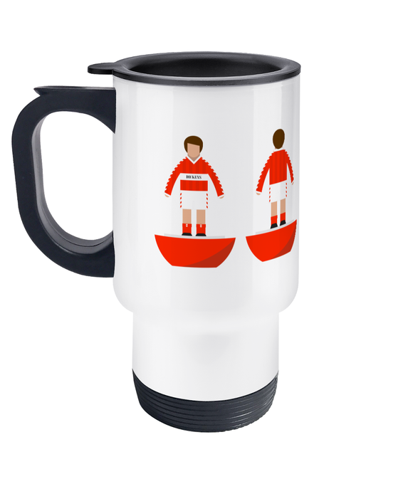 Football Player 'Middlesbrough 1986' Travel Mug