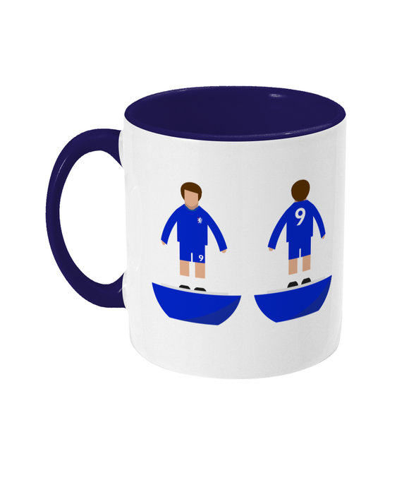 Football Player Chelsea 1970 Kit Mug