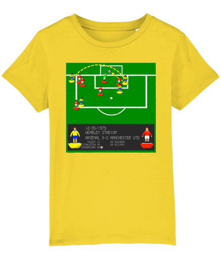 Football Iconic Moment 'Alan Sunderland ARSENAL v Manchester U 1979' Children's T-Shirt