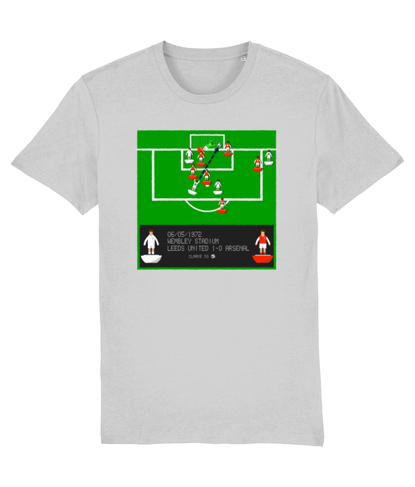 Football Iconic Moment 'Allan Clarke LEEDS v Arsenal 1972' Unisex T-Shirt