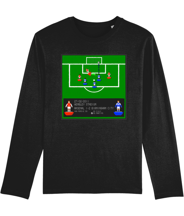 Football Iconic Moment 'Obafemi Martins Arsenal v BIRMINGHAM 2011' Men's Long Sleeve